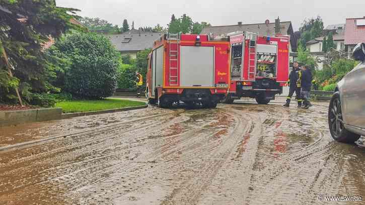 Unwetter in BW: Kreis Karlsruhe besonders betroffen - SWR
