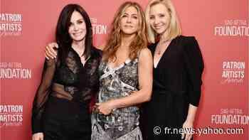VOICI : Friends Reunion : les retrouvailles des acteurs battent un record sur la plateforme Salto - Yahoo Actualités