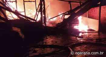 Filho é preso suspeito de incendiar casa da família em Santa Helena - O Paraná