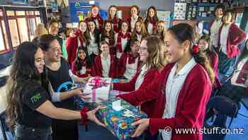 Palmerston North teens box up their compassion for Tararua kids in need - Stuff.co.nz