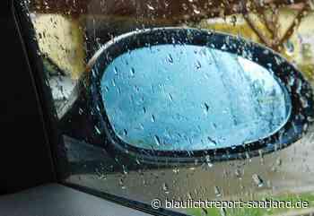 Marpingen: Kleinbus beschädigt - Blaulichtreport-Saarland