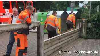 Herzogenaurach: Polizei warnt vor Flutwelle an der Aurach - Nordbayern.de