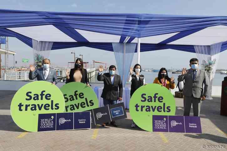 Sello Safe Travels reforzará llegada de turistas al balneario de Paracas - Agencia Andina