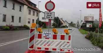 B30 Baustelle bei Meckenbeuren dauert bis Ende August - Schwäbische