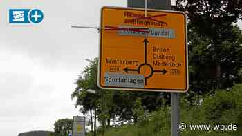 Winterberg: Zwei große Baustellen mit Vollsperrung - Westfalenpost