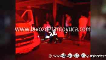 08/07/2021 Lesionan con arma blanca a un jovencito - La Voz De Tantoyuca