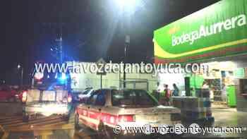 07/07/2021 Amantes de lo ajeno atracan tienda Aurrera - La Voz De Tantoyuca