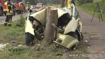 Zwei Verletzte: Schwerer Unfall auf B 212 zwischen Brake und Elsfleth - Nordwest-Zeitung