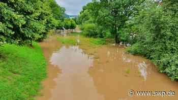Hochwasser in Gaildorf: Die Sommerflut endet glimpflich - SWP