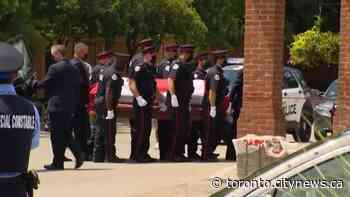 Body of Const. Jeffrey Northrup taken to Thornhill funeral home - CityNews Toronto