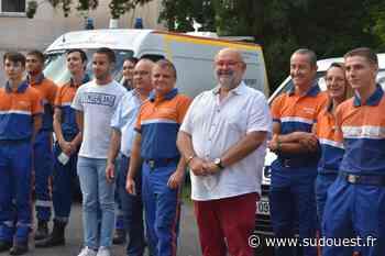 Blanquefort : une ambulance pour l'antenne locale de Protection civile - Sud Ouest