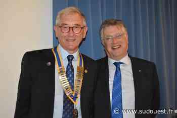 Blanquefort : le président du Rotary Jean-Paul Soubret rempile - Sud Ouest