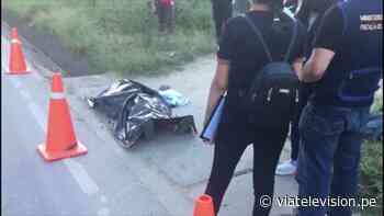 Moyobamba: encuentran cadáver cerca de la carretera Fernando Belaúnde Terry - VIA Televisión