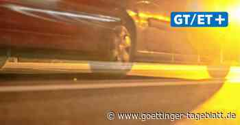 Raser auf B 241 bei Hardegsen: Polizei Northeim misst Geschwindigkeit - Göttinger Tageblatt