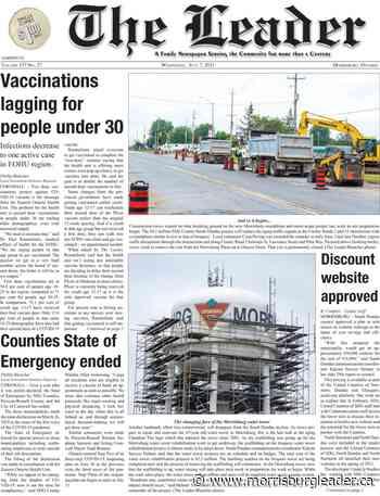 This week's headlines in The Leader – July 7, 2021 - The Morrisburg Leader