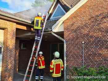 Es brennt bei der Polizei: Übung für die Feuerwehr - seevetal-aktuell.de