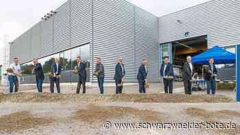 Spatenstich in Schopfloch - Homag Group investiert rund zehn Millionen Euro in Hallenanbau - Schwarzwälder Bote