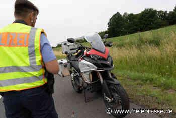 Biker bei Sturz auf A72 bei Treuen schwer verletzt - Freie Presse