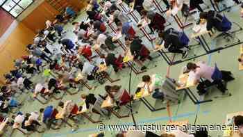 Realschüler müssen ran an die abschließenden Aufgaben - Augsburger Allgemeine