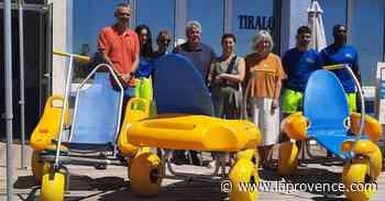 Fos-sur-Mer : la mer accessible à tous avec les tiralos - La Provence