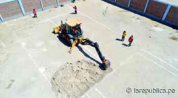 Piura: municipalidad de Paita inicia construcción de planta de oxígeno - LaRepública.pe