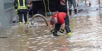 Land unter: In Lindlar und Wipperfürth sorgte Starkregen für Überflutungen - Kölnische Rundschau