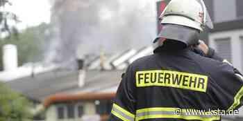 Lindlar: Schaden im sechsstelligen Bereich bei Großbrand entstanden - Kölner Stadt-Anzeiger
