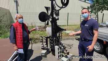 La sculpture bientôt reboulonnée à Balma - LaDepeche.fr