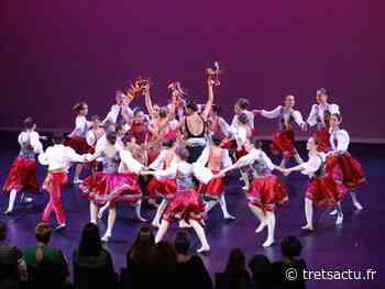 Trets : Le Ballet Entrechats retrouve les planches pour son Gala 2021 avec encore de très belles chorégraphies montées en un temps record ! - Trets au coeur de la Provence