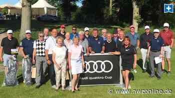 Golf-Turnier beim GC Wilhelmshaven-Friesland: Jürgens und Rank stehen im Deutschland-Finale - Nordwest-Zeitung