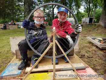 Bauspielplatz in Hilchenbach mit Steampunk-Flair: Mit Volldampf in die Sommerferien - Hilchenbach - Siegener Zeitung