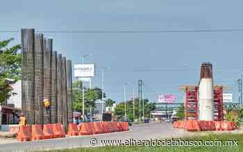 Moverán líneas eléctricas en Guayabal por distribuidor - El Heraldo de Tabasco