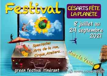Festival Césarts fête la planète Stade de Vigny samedi 28 août 2021 - Unidivers