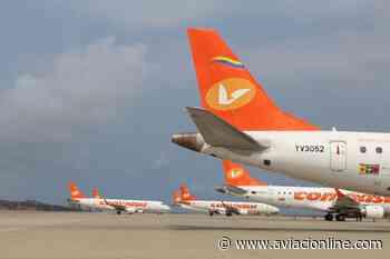 Conviasa retoma sus vuelos desde Caracas a Maracaibo y Maturín - Aviacionline.com