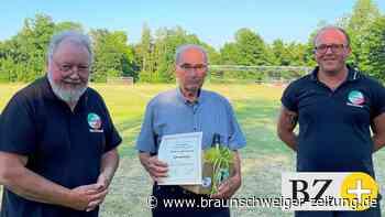 Wolfgang Werner ist Ehrenmitglied im Sportverein Lengede - Braunschweiger Zeitung