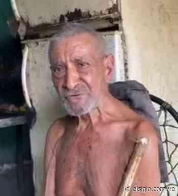 Una mano amiga para el abuelo Argimiro en Guanare elsiglocomve - Diario El Siglo