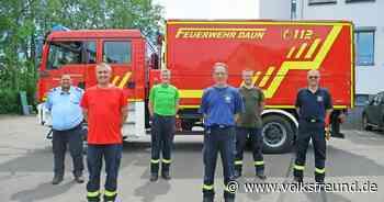 Vier Mitglieder der Feuerwehr Daun besuchen 24-stündigen Lehrgang - Trierischer Volksfreund