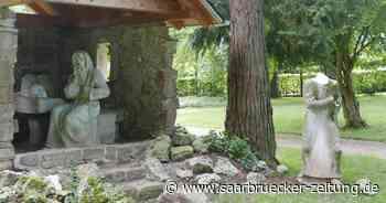 Statuen im Klosterpark Blieskastel mutwillig beschädigt - Saarbrücker Zeitung