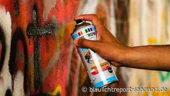 Sachbeschädigung durch Graffiti am Rathaus Blieskastel - Blaulichtreport-Saarland