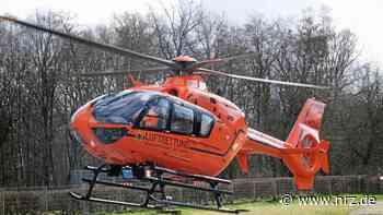 Hamminkeln: Kradfahrer mit Hubschrauber in Klinik gebracht - NRZ News