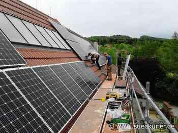 Markdorf: Die Klimaschützer vom Gehrenberg: Wie das Markdorfer Sonnenkraft-Netzwerk flächendeckend Fotovoltaik auf die Dächer bringen möchte - SÜDKURIER Online