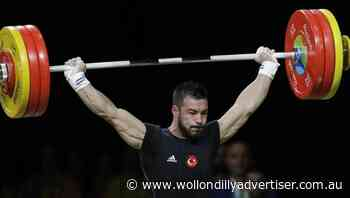 Euro weightlifting champ fails drug test - Wollondilly Advertiser
