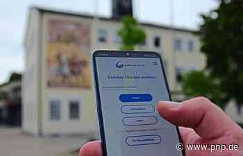 Bürger können defekte Laternen jetzt auch online melden - Passauer Neue Presse