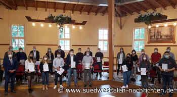 Preise für bürgerschaftliches Engagement verliehen   Olsberg - Südwestfalen Nachrichten   Am Puls der Heimat.