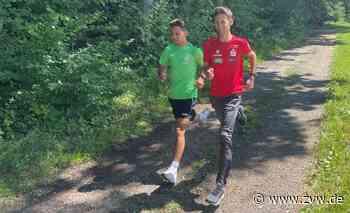 Sportunterricht mit Marcel Fehr auf dem Welzheimer Trimm-dich-Pfad - Welzheim - Zeitungsverlag Waiblingen - Zeitungsverlag Waiblingen
