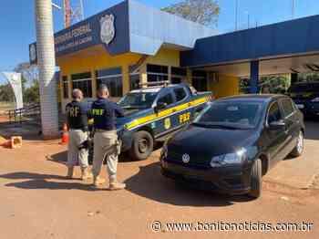 Veículo roubado em Campo Grande é recuperado em Guia Lopes da Laguna - Bonito Notícias