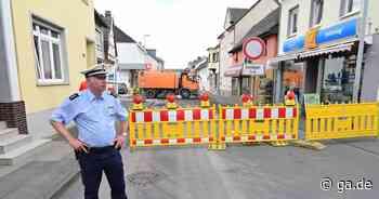 Witterschlicker Hauptstraße: Baustelle in Alfter hält Kunden von Geschäften fern - General-Anzeiger Bonn