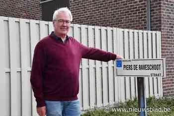 Hij deed het licht branden in de gemeente, en dus kreeg Georges Piers de Raveschoot zijn eigen straat