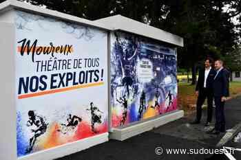 Mourenx : Enedis décore un poste haute tension - Sud Ouest