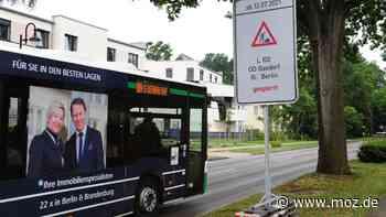 Vollsperrung L 100: Mehr als 20.000 Pendler zwischen Wandlitz und Berlin müssen sich für Wochen eine Umleitung suchen - moz.de